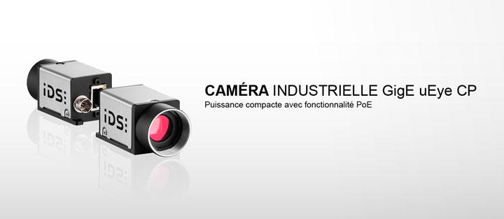 ---IDS caméra industrielle GigE uEye CP, caméra gigabit ethernet avec Power-over-Ethernet (PoE)