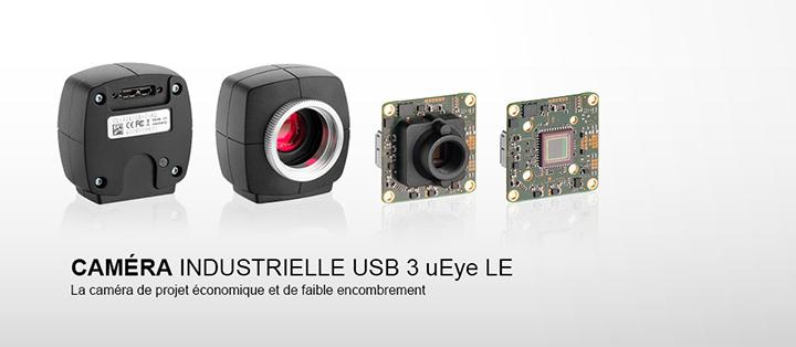 ---Caméra industrielle USB 3 uEye LE, haute résolution, capteur CMOS,  très rapidement, disponible en version boîtier et carte