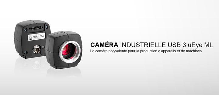 ---IDS caméra industrielle USB 3 uEye ML avec capteurs CMOS, aute résolution, très rapidement, compact, facile et robuste
