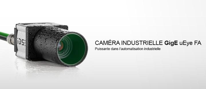---Caméra industrielle GigE uEye FA - Puissante dans l'automatisation  industrielle