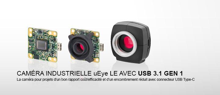 ---uEye LE USB 3.1 Gen 1 - Caméras USB 3.1 Gen 1 avec connecteur USB Type-C