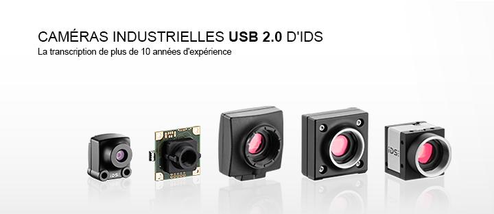 ---IDS camera-USB industrielle avec interface, caméra CMOS, varié de boîtiers et de cartes, polyvalente