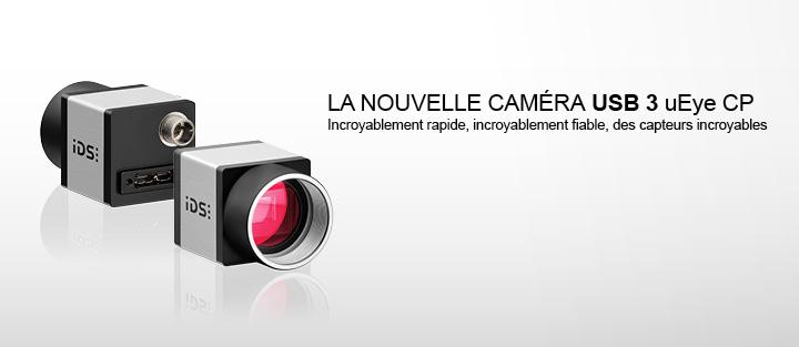 ---IDS caméra CMOS, caméra industrielle USB 3.0 uEye CP, haute résolution, hautement sensible, extrêmement rapide