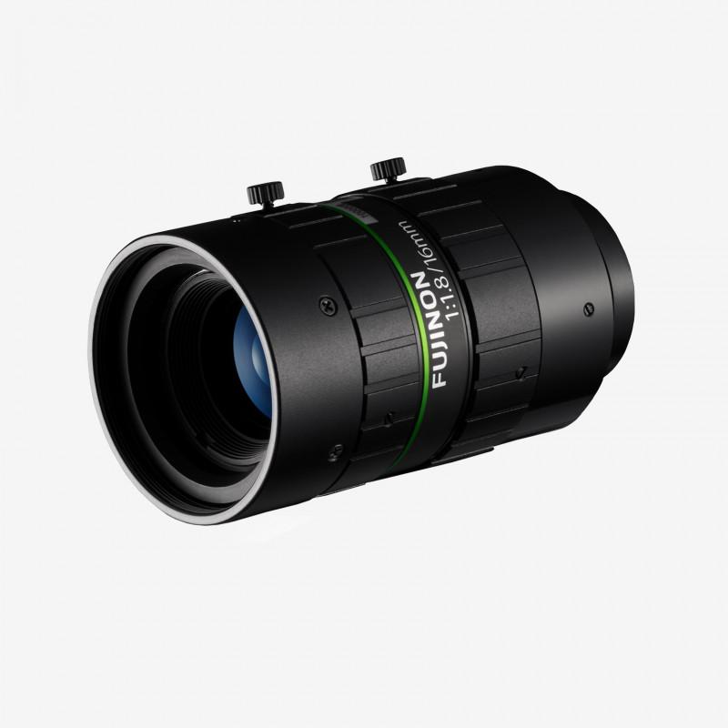 """Lens, Fujifilm, HF1618-12M, 16 mm , 2/3"""" C-Mount. 2/3"""". 16 mm. Fujifilm. AE00187"""