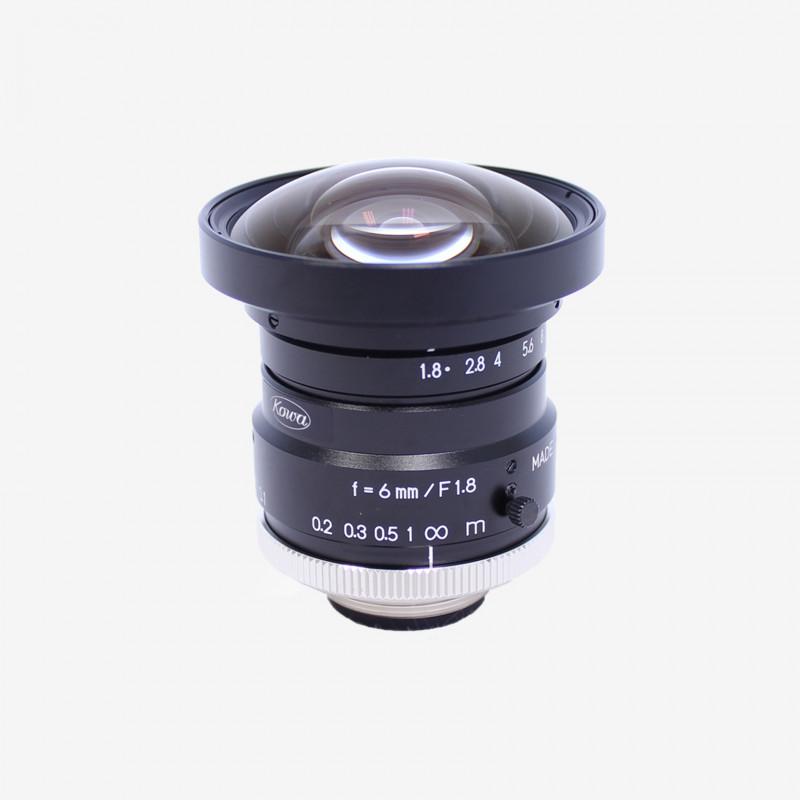 """Objectif, Kowa, LM6HC, 6 mm, 1"""""""