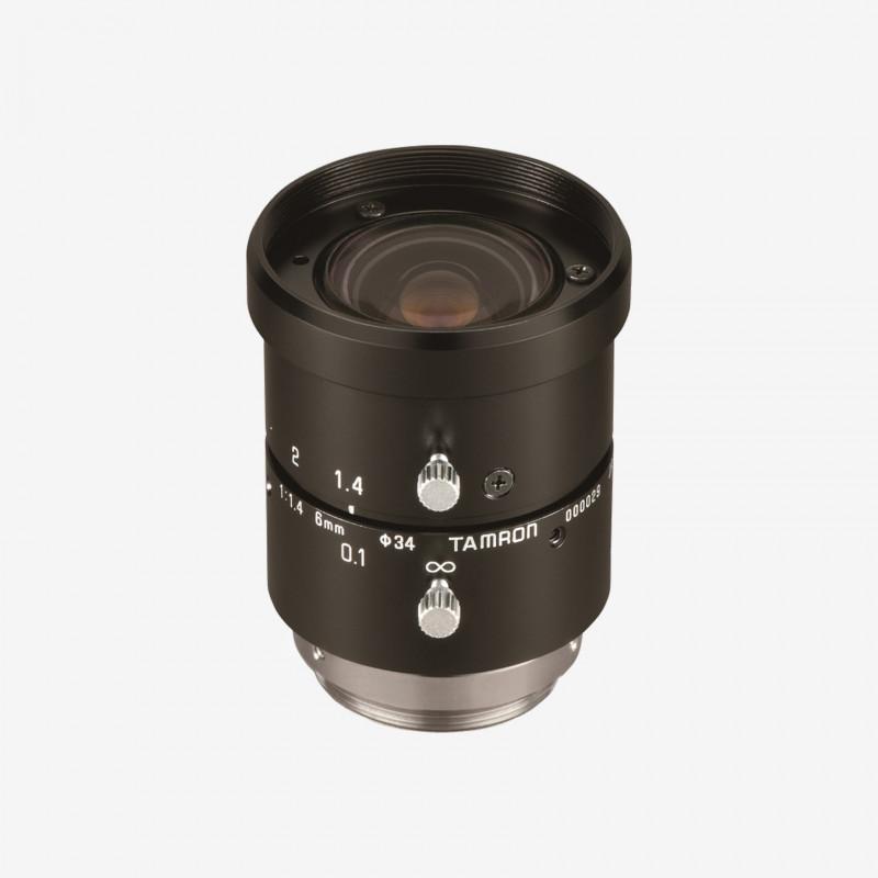 """Lens, Tamron, M118FM06, 6 mm, 1/1.8"""" C-Mount. 1/18"""". 6 mm. Tamron. AE00119"""