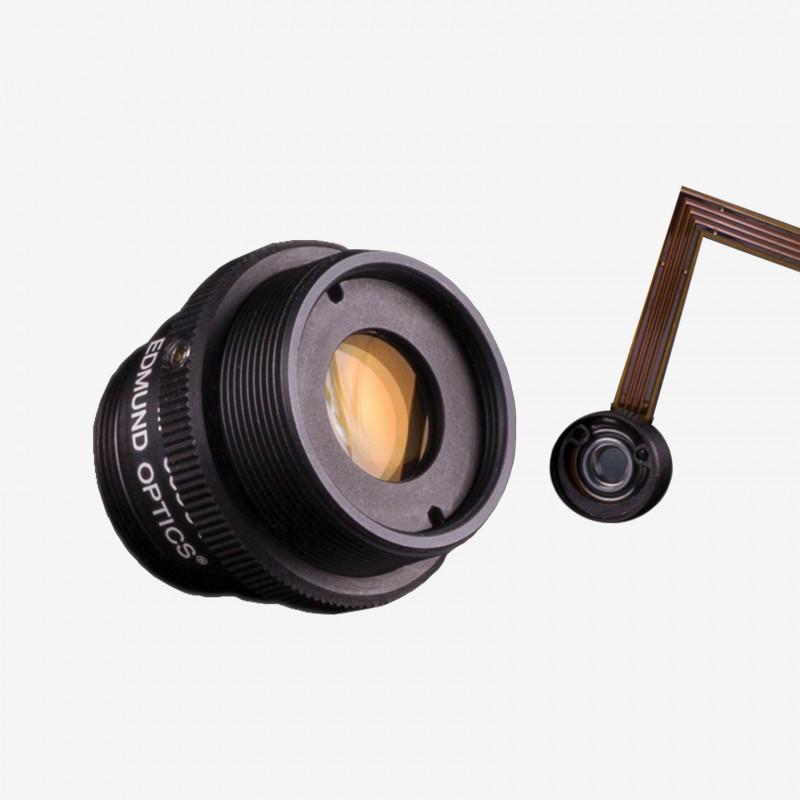 """Objektiv, Edmund, TECHSPEC Cx-Series, 25 mm, 2/3"""" C-Mount. 1/1.8"""". 12 mm. Edmund. AE00179"""