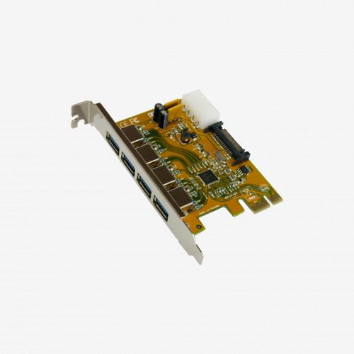 Carte PCI-Express USB 3.0 4 ports (11094)