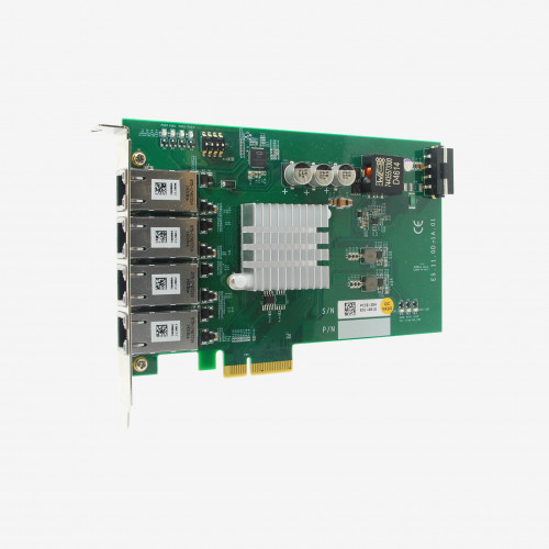 Neousys PCIe-PoE354at x4 network card 4-port