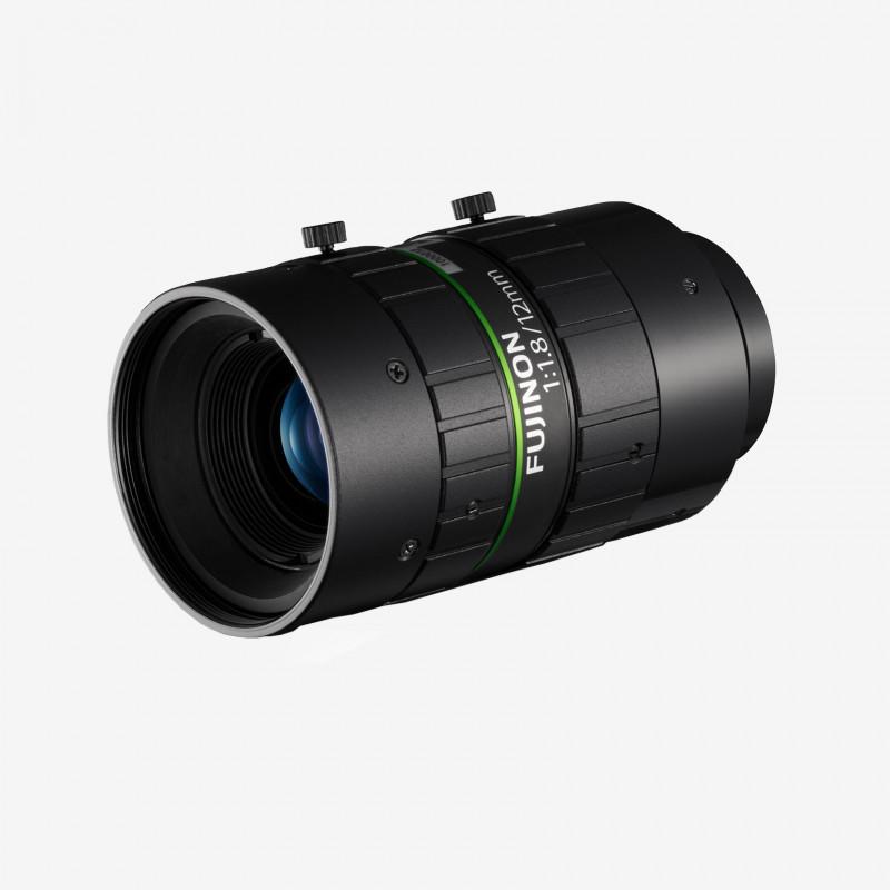 """Lens, Fujifilm, HF1218-12M, 12 mm , 2/3"""" C-Mount. 2/3"""". 12 mm. Fujifilm. AE00186"""
