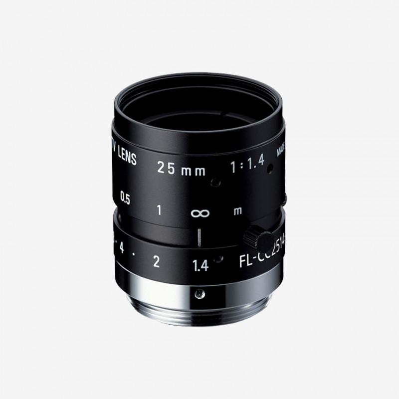 "Lens, RICOH, FL-CC2514-2M, 25 mm, 2/3"" C-Mount. 2/3"". 25 mm. Ricoh. AE005020130000"