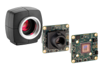 USB 3 uEye LE: The reasonably-priced USB 3.0 machine vision camera from IDS is available als PCB version or with housing